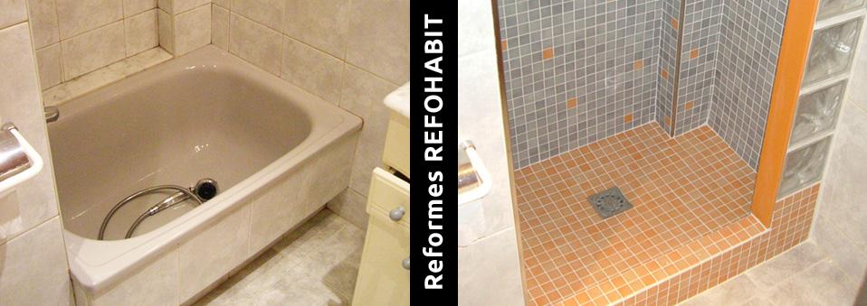 8 cambio de bañera por ducha de gresite en barcelona