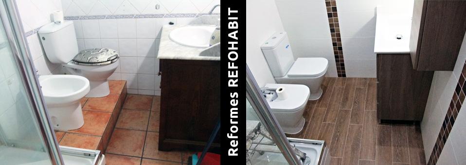 6 Reforma De Baño Parcial En Piso De Hospitalet