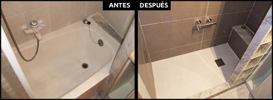 Cambiar bañera por ducha en Sant Gervasi Barcelona