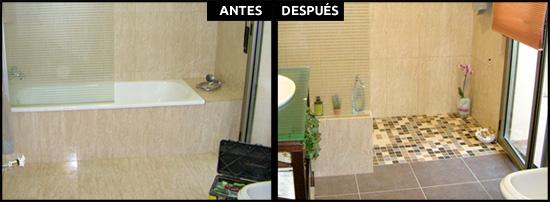 Cambios de ba era por ducha en barcelona precios reales for Cambiar banera por ducha sin obras