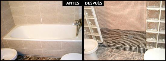 Cambios de ba era por ducha en barcelona precios reales - Banera ducha precio ...