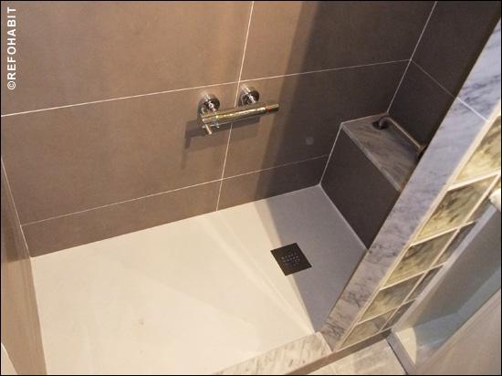 Cambio de ba era por plato de ducha para persona mayor - Como cambiar banera por ducha sin obra ...