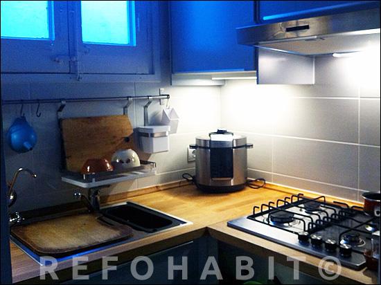 Reforma de cocina en piso de barcelona muebles de ikea for Cocinas de ikea precios