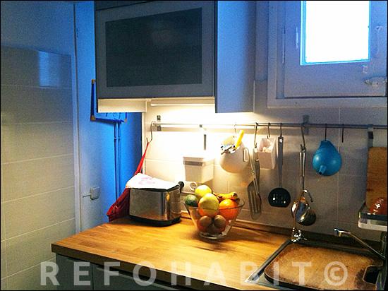 Reforma de cocina en piso de barcelona muebles de ikea - Reformas de cocinas en barcelona ...