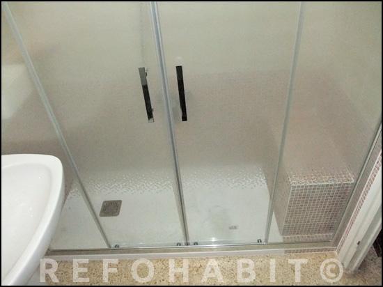 mamparas para ducha de obrade baera por plato de ducha de resina con banco de obra para mamparas para ducha de obra