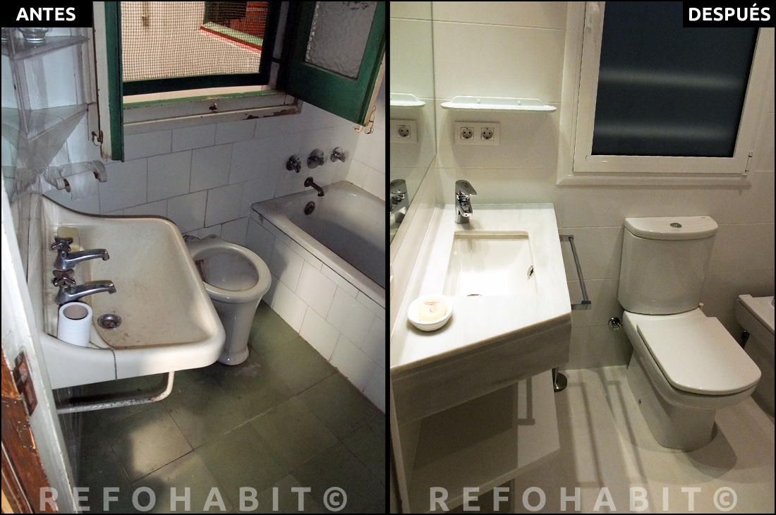 Precio y fotos reforma integral de piso en eixample bcn for Precio reforma integral