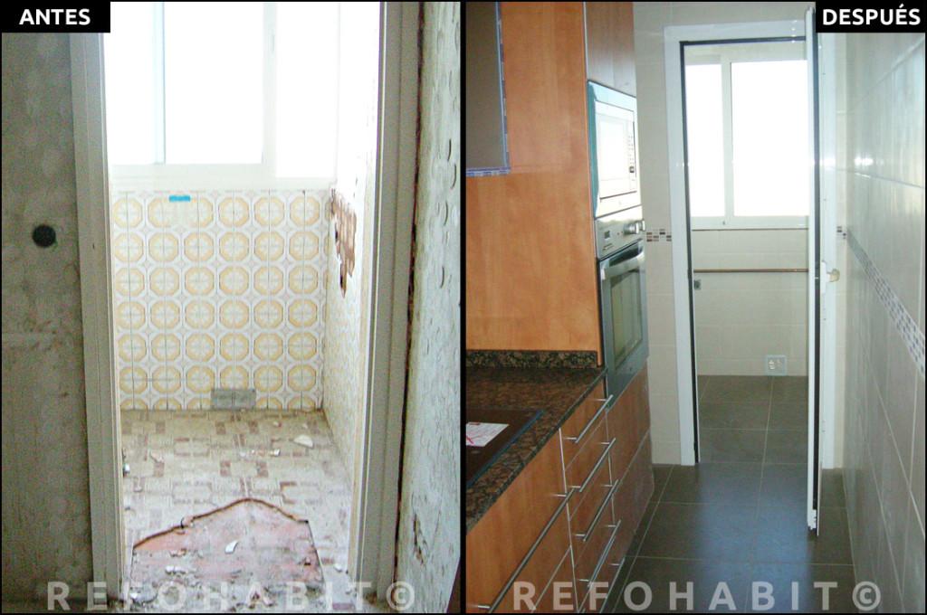 Precio de reforma integral de piso barcelona bon pastor - Reformas de cocinas antes y despues ...