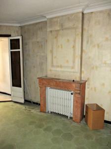 Antes de la reforma integral de piso