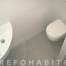 Reforma con cuarto de baño adicional en piso, ejemplo para hacer baño supletorio