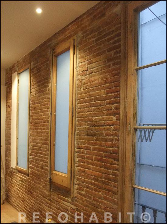 Reformar y limpiar pared de obra vista ladrillo visto for Paredes ladrillo visto