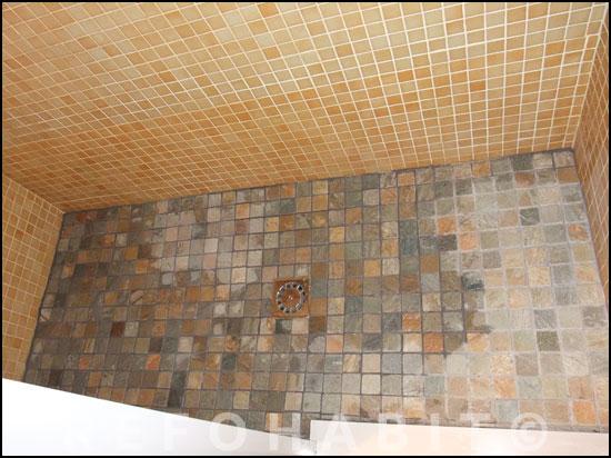Reforma Baño Cambiar Banera Por Ducha:Reformas baños Sants plato de ducha de obra