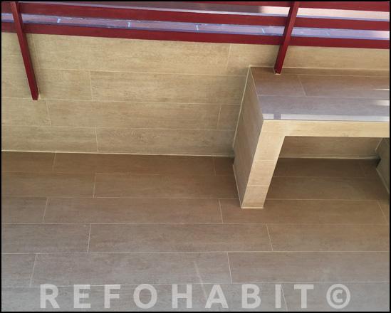 Reforma de terraza en piso de Barcelona
