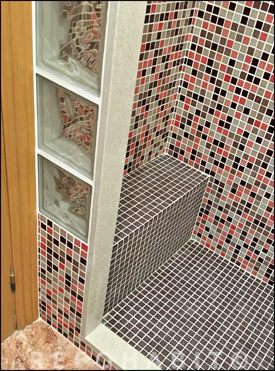 Baños Duchas Gresite:Cambio de bañera por ducha de gresite en Sant Adrià del Besòs