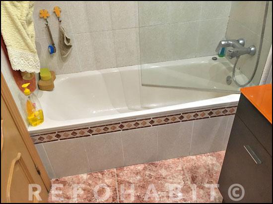 Antes del cambio de bañera por ducha.