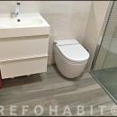 Reforma de baño en Cardedeu Barcelona, quitando bañera y colocando ducha