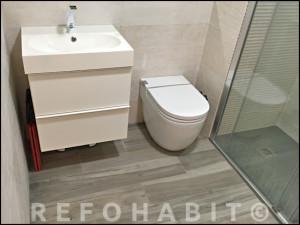 Reforma de baño en Cardedeu barcelona.